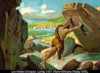 Memoria encesa: Los XII trabajos de Herculés: Limpiar los Establos de Augías  en sólo un día