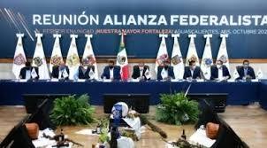 Diálogo sin confrontación, plantean gobernadores aliancistas - Política -  La Jornada