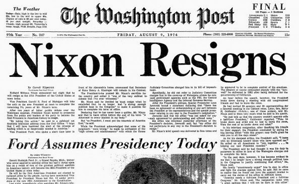Watergate y el papel de la prensa